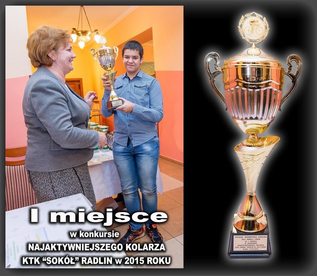 Łukasz Likos - najaktywniejszy kolarz sezonu